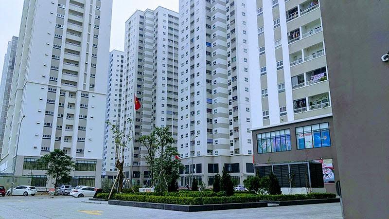 Một góc của khu căn hộ Mipec City View
