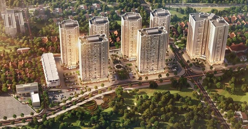 Phối cảnh tổng thể dự án căn hộ Mipec City View
