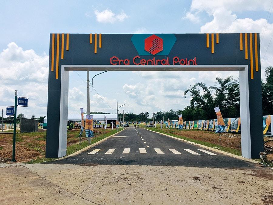Cổng vào dự án Era Central Point