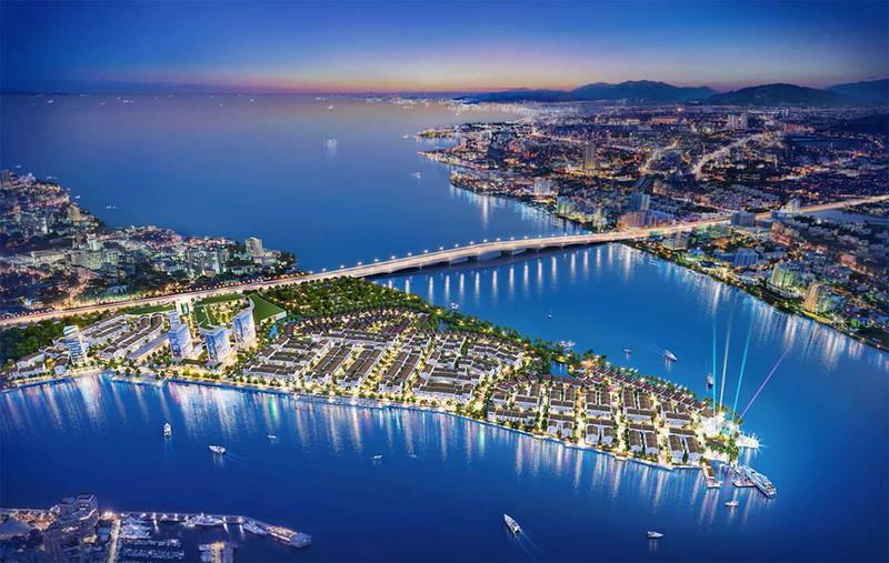 Phối cảnh tổng thể dự án Marine City