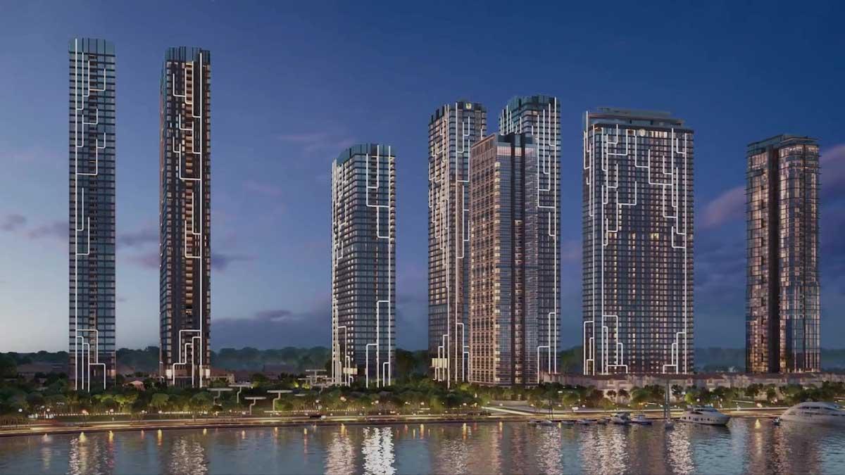 Phối cảnh tổng thể dự án Grand Marina Saigon